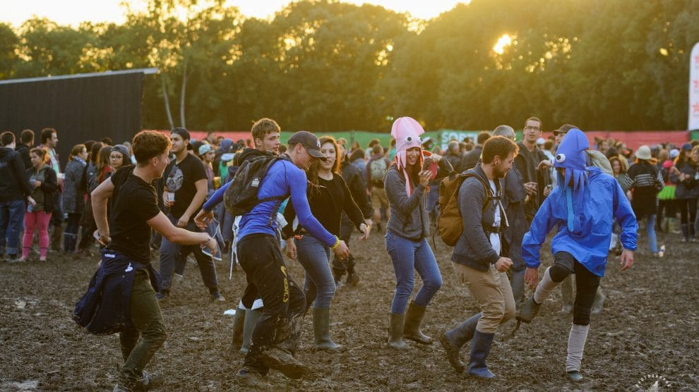 Les boues estivales du Festival Garorock